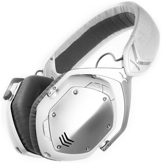 V-MODA Crossfade Bluetooth Over-Ear Headphones (White/Silver)