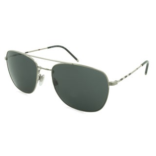 Burberry Sunglasses - 3079 / Frame: Silver Lens: Gray