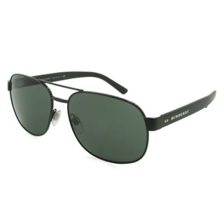Burberry Sunglasses - 3083 / Frame: Black Lens: Green