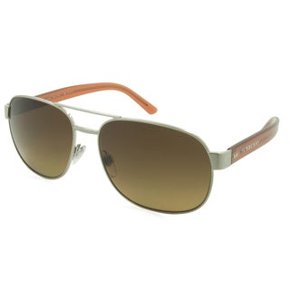 Burberry Sunglasses - 3083 / Frame: Silver Lens: Polarized Brown Gradient