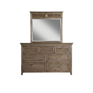 Origins Remington Wood and Glass Mirror