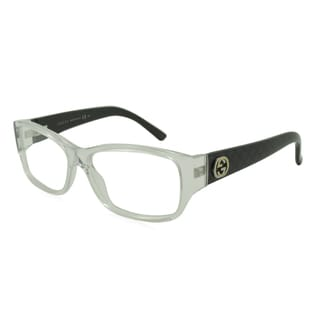 Gucci Rx Eyeglasses - GG3185 Clear / Frame with Standard Plastic Single Vision RX Lenses (enter RX below)