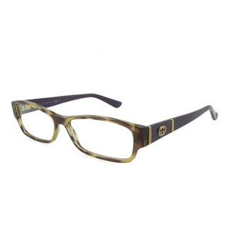 Gucci Rx Eyeglasses - GG3201 Violet / Frame with Standard Plastic Single Vision RX Lenses (enter RX below)