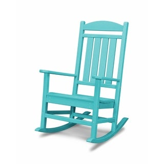 POLYWOOD Presidential Outdoor Rocking Chair (More options available)