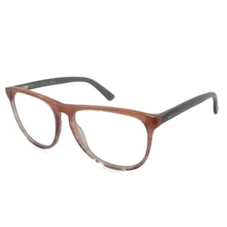 Gucci Rx Eyeglasses - GG3518 Peach / Frame with Standard Plastic Single Vision RX Lenses (enter RX below)