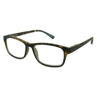 UrbanSpecs Readers Reading Glasses Reading Glasses - R29141 Tortoise/Green / Tortoise Green