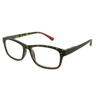 UrbanSpecs Readers Reading Glasses Reading Glasses - R29141 Tortoise/Red / Tortoise