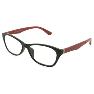 UrbanSpecs Readers Reading Glasses Reading Glasses - R99149 Black/Red / Black/Red