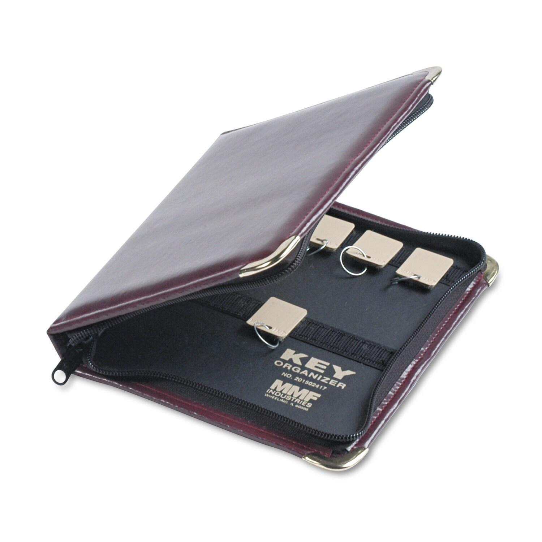 Steelmaster Burgundy Portable Zippered 24-Key Case (Burgu...