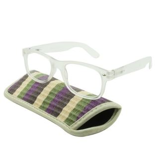 UrbanSpecs Readers Reading Glasses Reading Glasses - Tropico Clear / Clear