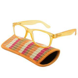 UrbanSpecs Readers Reading Glasses Reading Glasses - Tropico Orange / Orange