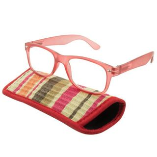UrbanSpecs Readers Reading Glasses Reading Glasses - Tropico Red / Red