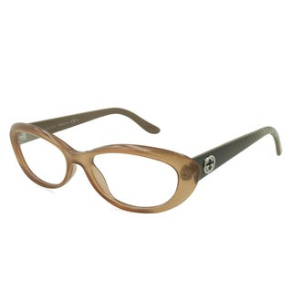 Gucci Readers Reading Glasses Reading Glasses - GG3566 Peach / Frame with Standard Plastic Single Vision RX Lenses
