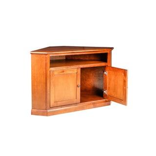 Forest Designs Mission Alder Corner TV Stand