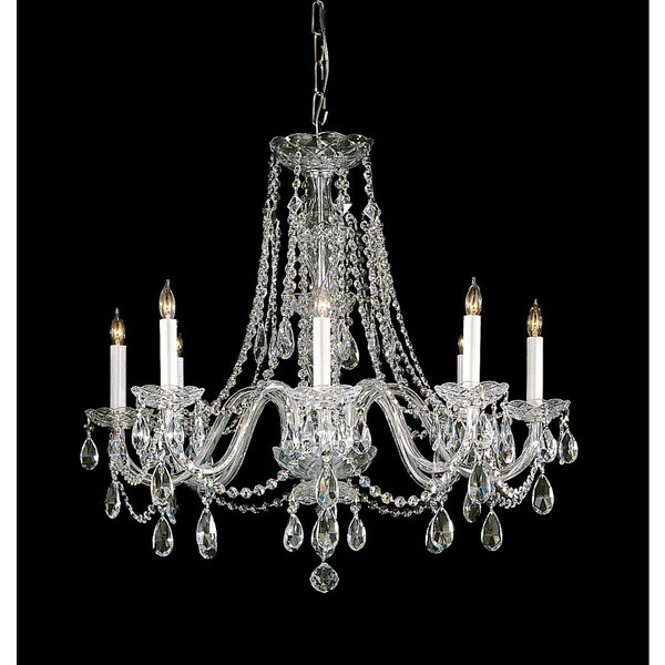 Crystorama traditional crystal collection 8 light polished brass crystorama traditional crystal collection 8 light polished brassswarovski strass crystal chandelier aloadofball Choice Image