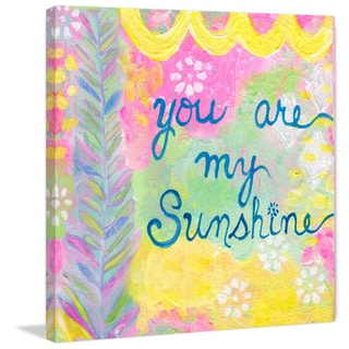 Marmont Hill - 'My Sunshine' by Jill Lambert Painting Print on Wrapped Canvas