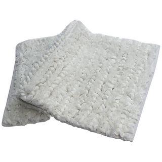 Benzara Shelby Paper Shag Bath Rug (20 Inches x 32 Inches)