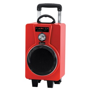 IBasics Portable Tailgate Bluetooth Party Speaker With Mic