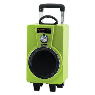 IBasics Portable Tailgate Bluetooth Party Speaker With Mic (Option: Yellow)