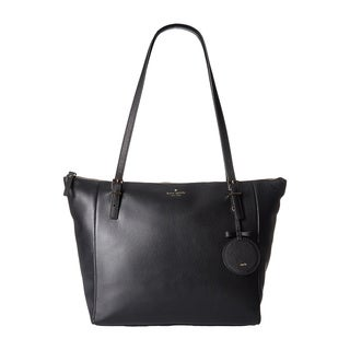 Kate Spade Emma Lane Maya Black Leather Tote Bag