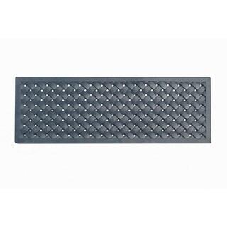 A1HC First Impression Ezekiel 18 in. X 47 in. Indoor/Outdoor Rubber Doormat