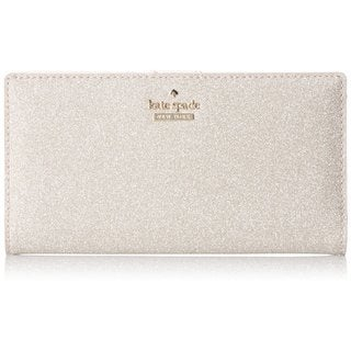 Kate Spade New York Women's Burgess Stacy Rose Gold Continental Wallet