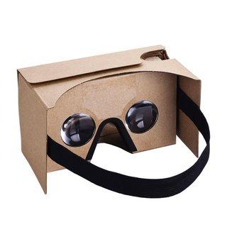 Google Cardboard Kit 3-D VR Virtual Reality Headset DIY 3D Glasses for Smartphones