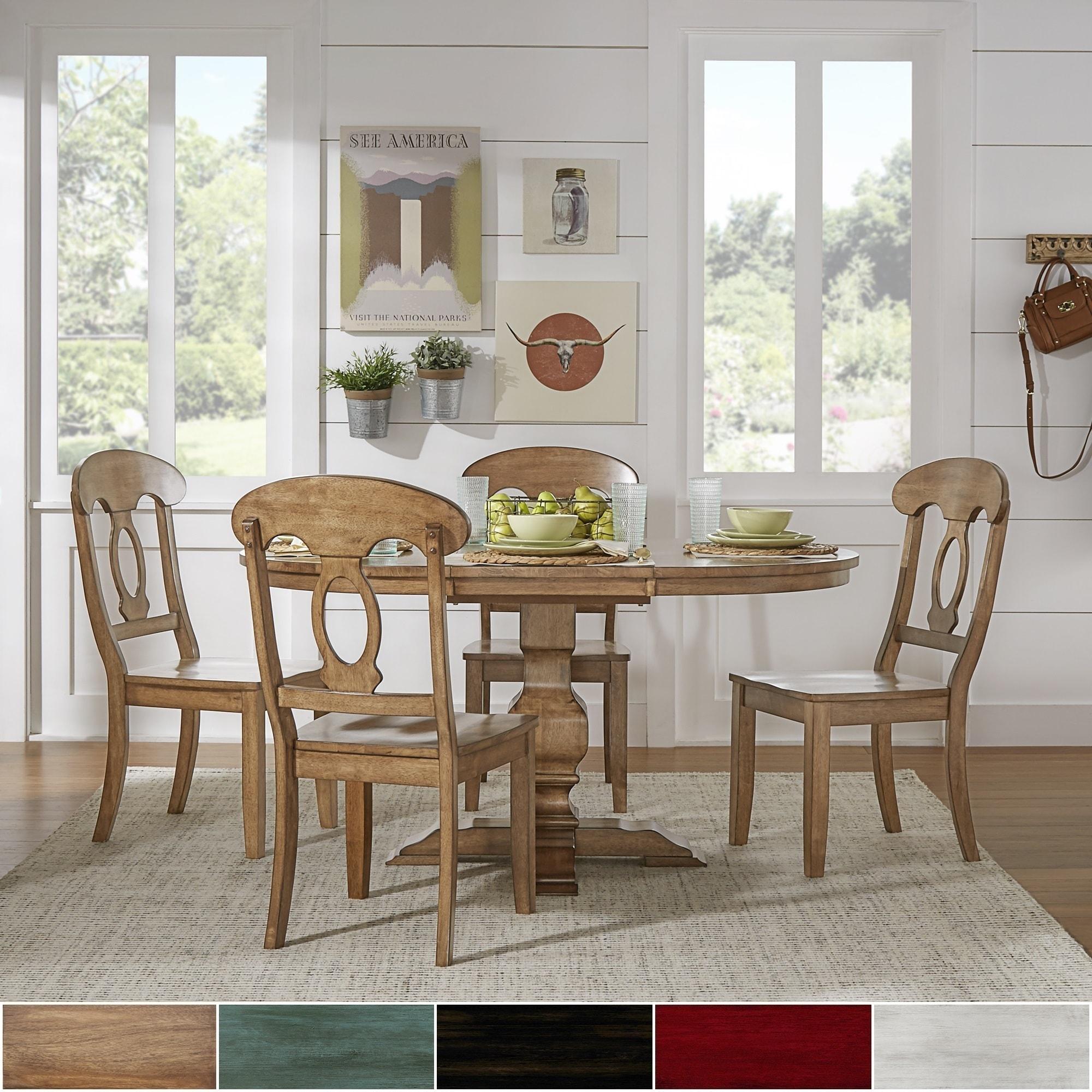 Eleanor Oak Solid Wood Oval Table