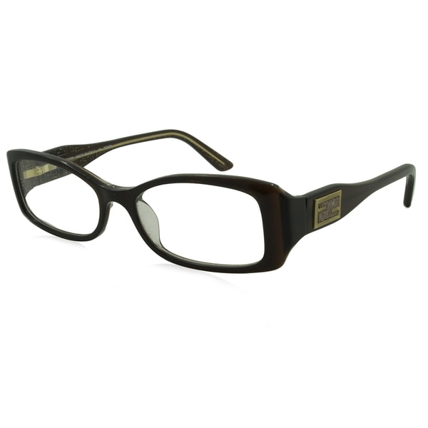 ae92abbcdb8 Shop Fendi Rx Eyeglasses - F884 Brown   Frame only with demo lenses. - Free  Shipping Today - Overstock - 13916626
