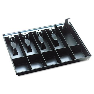 SteelMaster Cash Drawer Replacement Tray Black