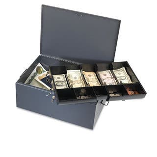 SteelMaster Extra Large Cash Box with Handles Key Lock Grey|https://ak1.ostkcdn.com/images/products/13916946/P20551036.jpg?impolicy=medium