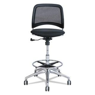 Safco Reve Series Mesh Extended-Height Chair Black