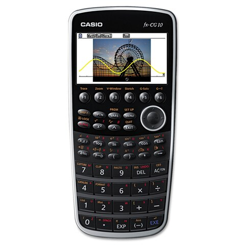 Casio PRIZM FX-CG10 Graphing Calculator 21-Digit Color LCD