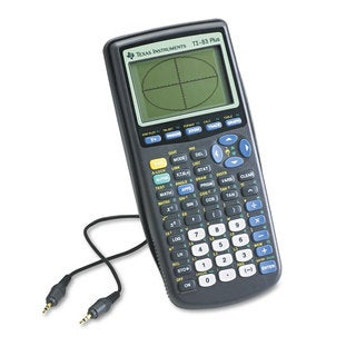 Texas Instruments TI-83Plus Programmable Graphing Calculator 10-Digit LCD