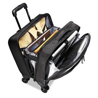 Samsonite Xenon 2 Spinner Rolling Mobile Office 13 1/2 x 8 x 16 1/2 Nylon Black