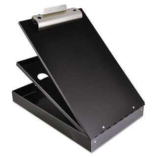 Saunders Cruiser Mate Aluminum Storage Clipboard 1 1/2-inch Clip 8 1/2 x 12 Sheets Black