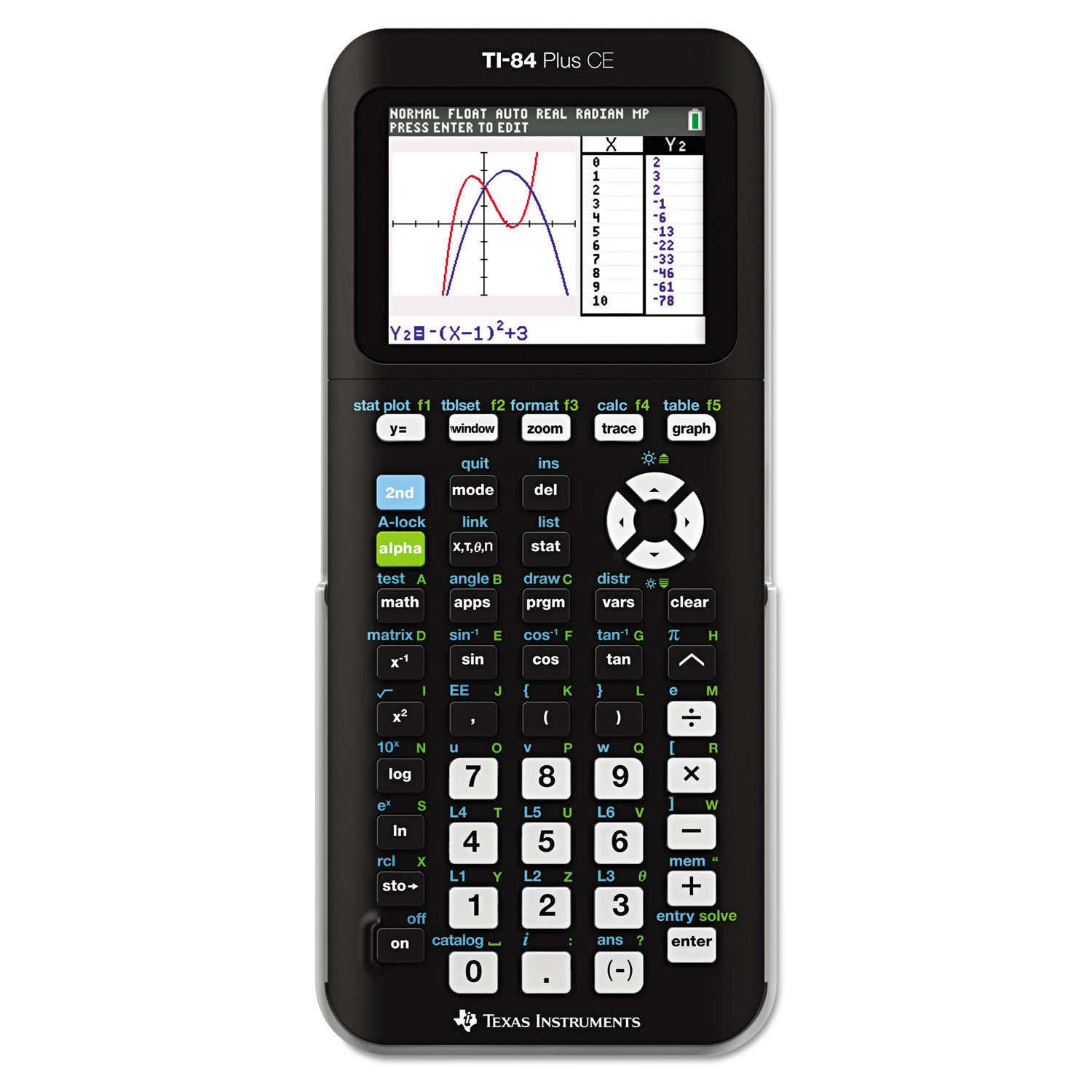Texas Instruments TI-84 Plus CE Programmable Color Graphi...