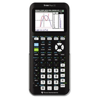 Texas Instruments TI-84Plus C Silver Edition Programmable Color Graphing Calculator
