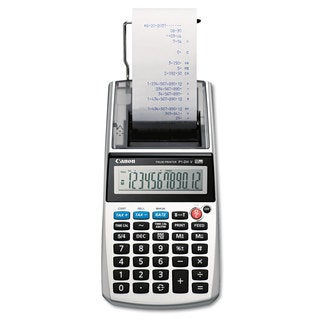 Canon P1-DHV 12-Digit Palm Printing Calculator Purple Print 2 Lines/Sec