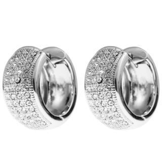 Matashi 18k White Goldplated High-quality Cristals Earrings