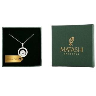 Matashi 18k White Goldplated Necklace