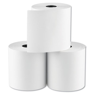 National Checking Company RegistRolls Point-of-Sale Rolls 3-inch x 165-feet White