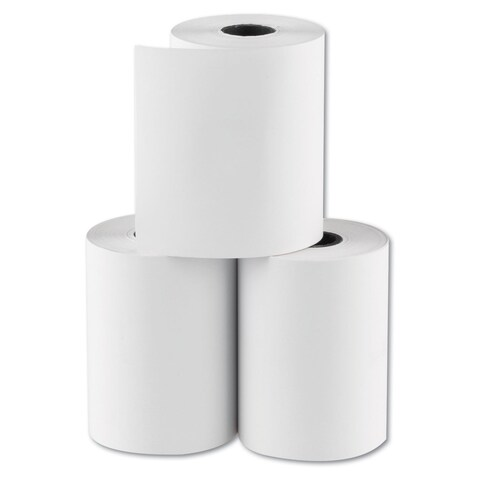 National Checking Company RegistRolls Thermal Point-of-Sale Rolls 2 1/4-inch x 80-feet White 48/Carton
