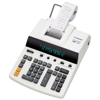 Canon CP1213DIII 12-Digit Heavy-Duty Commercial Desktop Printing Calculator 4.8 L/Sec