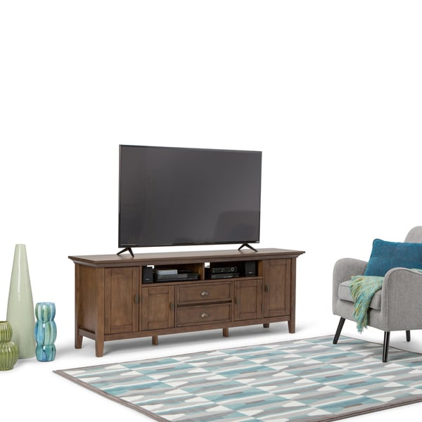Shop Wyndenhall Mansfield 72 Inch Tv Media Stand For Tvs Up To 80