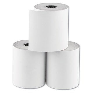 National Checking Company RegistRolls Thermal Point-of-Sale Rolls 3 1/8 inches x 200 ft White 30/Carton