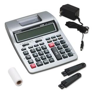 Casio HR-100TM Two-Color Portable Printing Calculator Black/Red Print 2 Lines/Sec