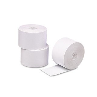 PM Company Single Ply Thermal Cash Register/POS Rolls 2 5/16 inches x 356 feet White 24/Cartonn