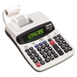 Victor 1310 Big Print Commercial Thermal Printing Calculator Black Print 6 Lines/Sec