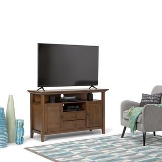 WYNDENHALL Mansfield 54-inch TV Media Stand for TV's up to 60 inches